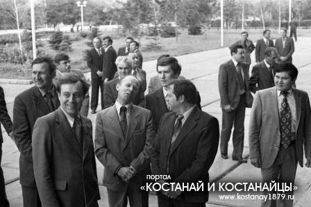 Приезд Д.А.Кунаева