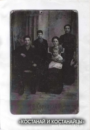 Шкуратовы 1914 год