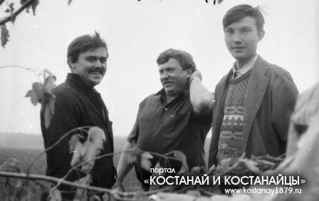 И.Классен, Я.Гиберт, Р.Фарвазов - полеводы опытной станции