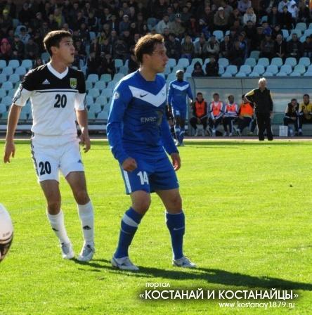 Ермек Куантаев и Игорь Юрин