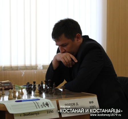 Попов Дмитрий, мастер ФИДЕ, Актобе
