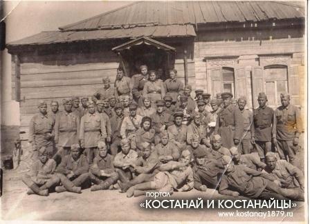 17 сентября 1942 г. Село Садки. Сталинградский фронт. Сотрудники 193 медсанбата