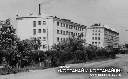 Обжежития пединститута. 20 июня 1967 года