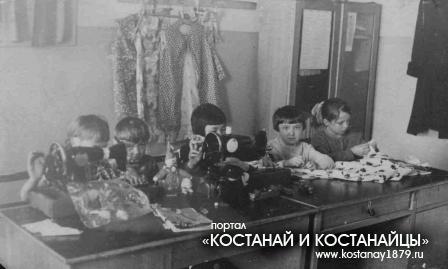 Боровское. Кружок кройки и шитья в Доме пионеров