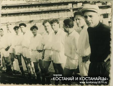Кустанайские футболисты