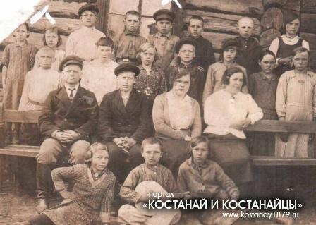 Степановские школьники