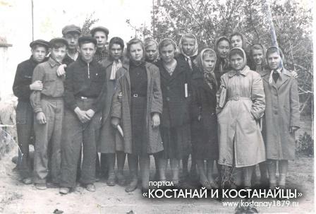 Семиозерное.1960 год. 8 класс