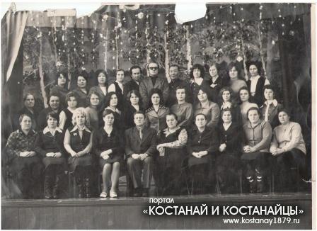 Педагогический коллектив Надеждинской средней школы