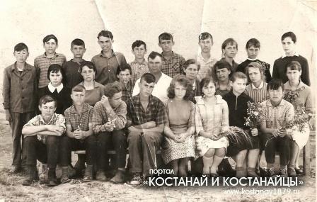 Сулукольская школа. 1959-1969