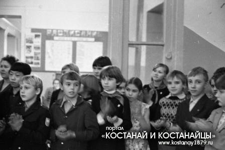 Дети за мир. Октябрь 1982 года