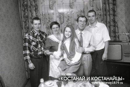 Семья Н.М.Чудновского. 1995 год