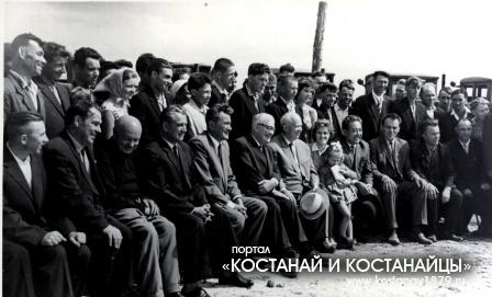 Приезд Генерального секретаря ЦК КПСС Хрущева Н.С. в Кустанайскую область