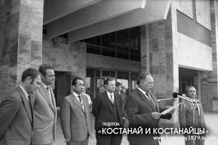 Открытие автовокзала