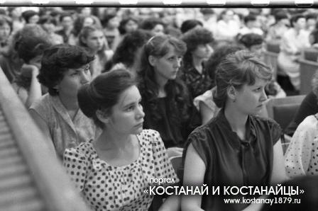 Медучилище. 1982 год