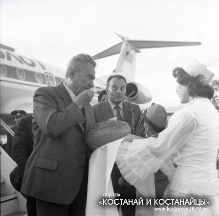 Визит Динмухамеда Ахмедовича Кунаева. 1982 год