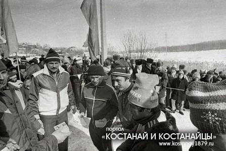 День лыжника. 1989 год