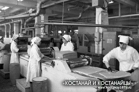 Кондитерская фабрика. 1986 год