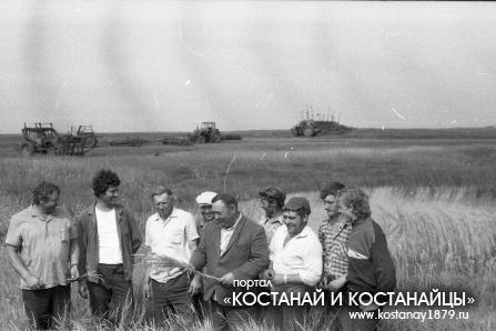 Камышненский район. 1987 год