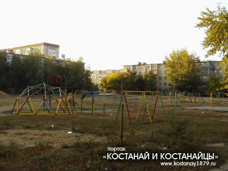 Двор улица Чкалова дом 4