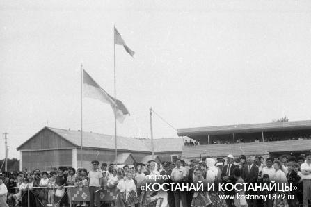 Спартакиада в совхозе имени Фрунзе. 1992 год