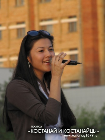 Участница группы Арман-Достар