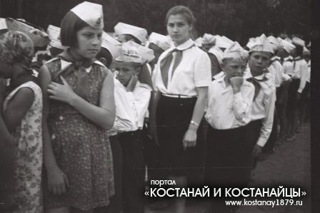 Лагерь Орленок. Начало 70-х годов