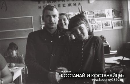 Студенты пединститута