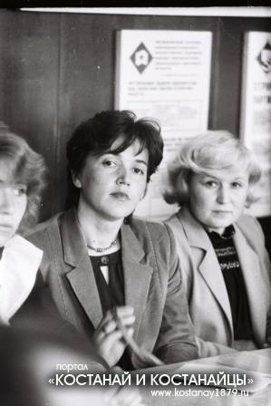 Кустанай. Круглый стол. 1987 год