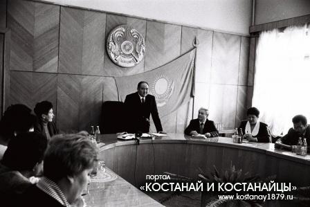 Встреча акима У.Шукеева с пенсионерами