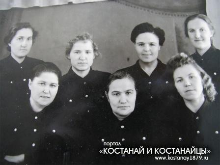 Работницы вокзала