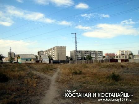 В районе пересечения улиц Хакимжановой и Маяковского