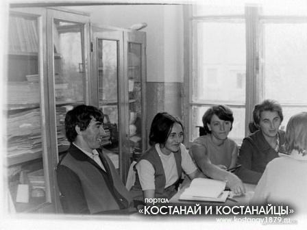 Педсовет. В. Авдеенко, Л. Горбачева, Н. Жуган, А. Шило.