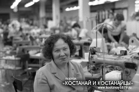 На фабрике Большевичка
