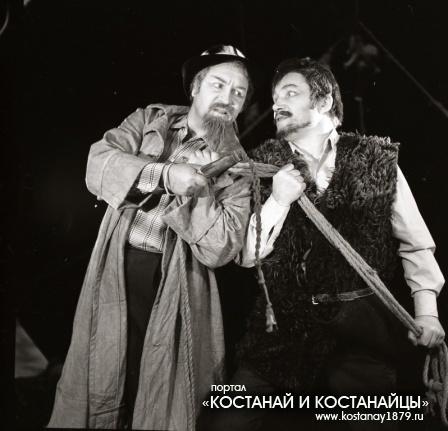 Из спектакля Жеребенок