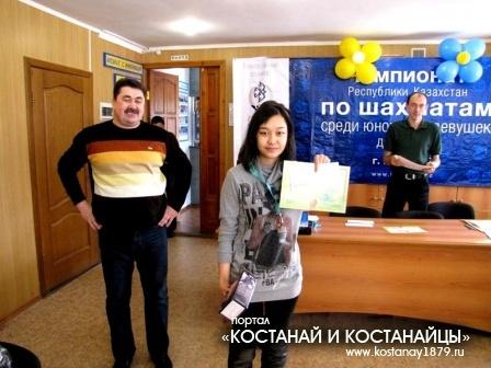 Бронзовый призер - Жанар Байжанова