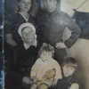 Семья Александра Петровича Черменинова.1946 год