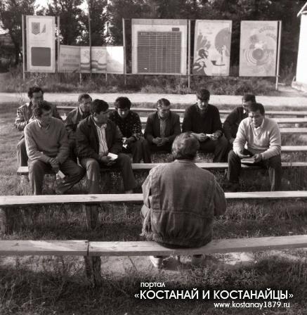 Уборочная в совхозах им. Н.Г.Козлова и Сосновский