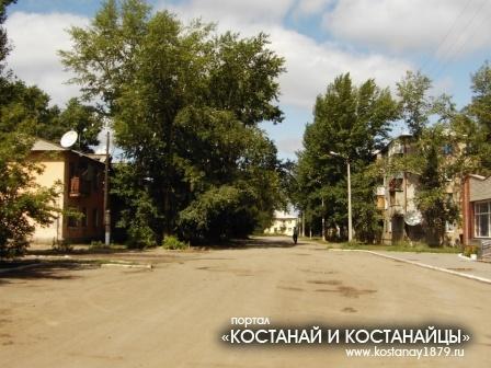 улица Омара Шипина (район ДК Строителя)
