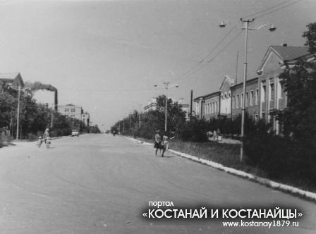 Улица Ленина. 1964 год