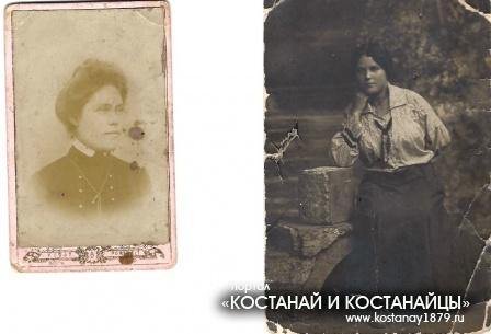 Дочери купца Павла Зеленского Феодосия (слева) и Зинаида
