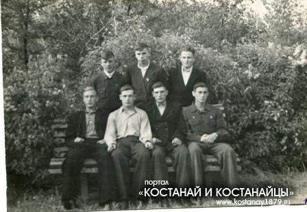 Комсомолец. 1953 год