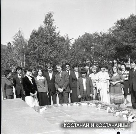 Учителя выпускники. 1983 год