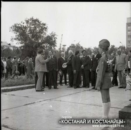 Открытие бюста Л.И.Тарана