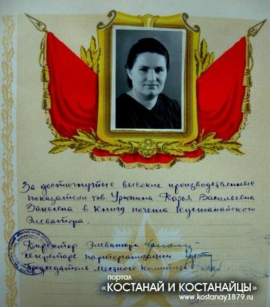 Урюпина Дарья Васильевна