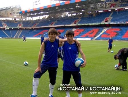 Данияр Муканов и Нурбол Жумаскалиев