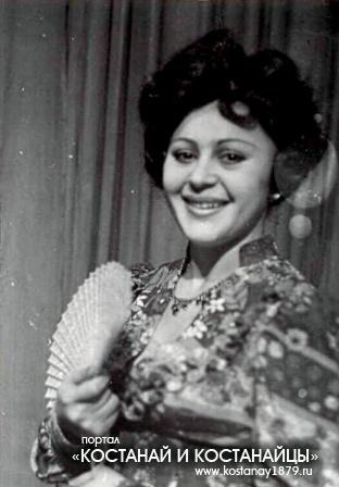 Актриса Мария Павловна Гейко в костюме к спектаклю «Варвары»