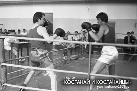 Кустанайские боксеры
