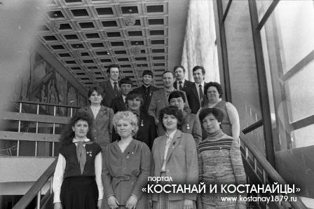 Комсомольцы восьмидесятых